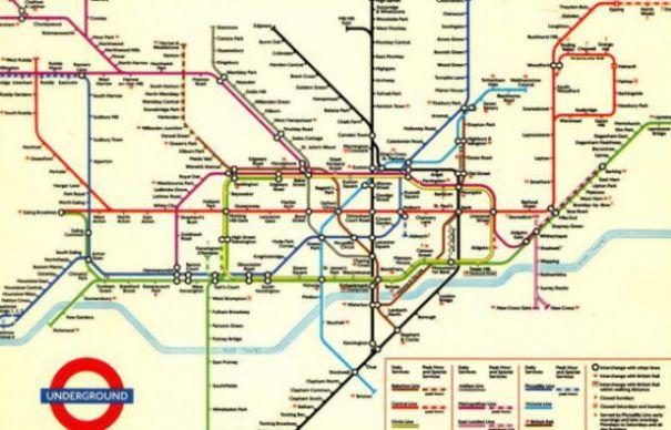 Genialitatea Hărții Metroului Din Londra Money Point